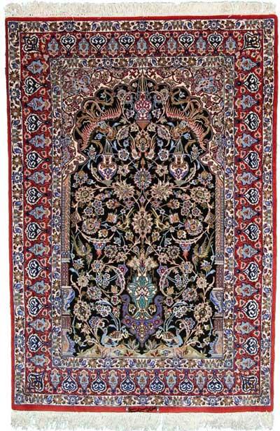 Isfahan ordito in seta
